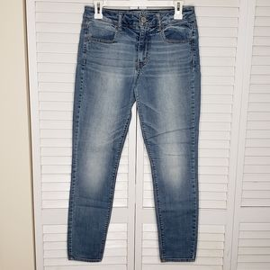 AE 6 SHORT HiRise Jeggings/Jeans Super Stretch